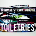 Toiletries: Minimalist Packing Guide