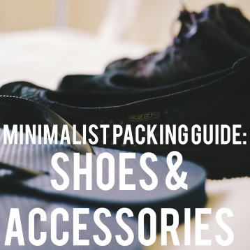 Shoes: Minimalist Packing Guide
