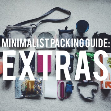 Extras: Minimalist Packing Guide