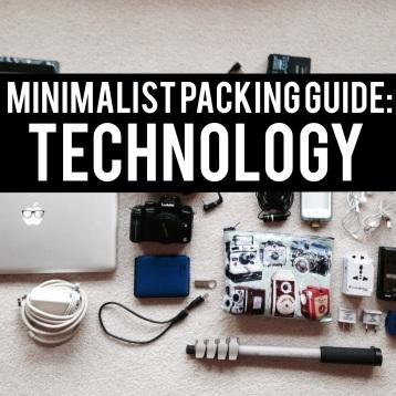 Technology: Minimalist Packing Guide