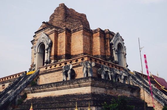 temples and elephants
