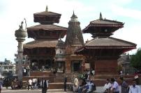 Newari architecture at Durbar Square