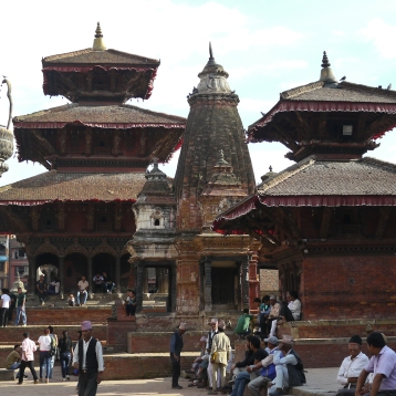 Newari architecture at Durbar Square