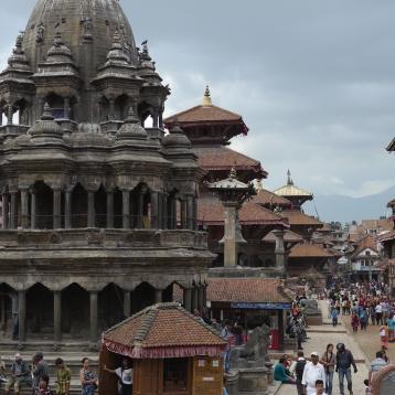 Patan Durbar Square entrance