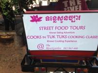 Cooks in tuk tuks. Obviously.