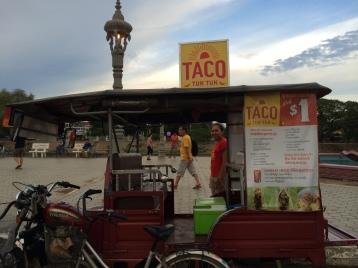 Taco Tuk tuk!