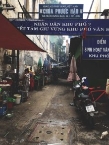 Alleyway in Saigon