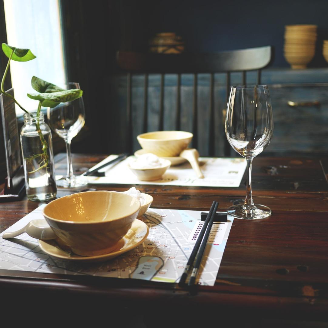 Ngon Villa dining