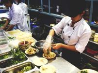 Ngon Villa kitchen