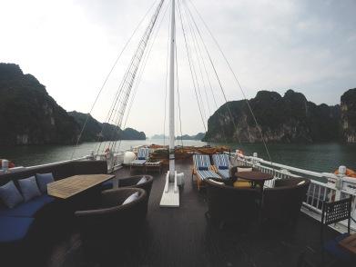 Sun deck of Paradise Luxury
