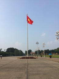 Outside of the Tomb of Ho Chi Minh
