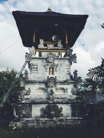 Balinese temples on Nusa Penida