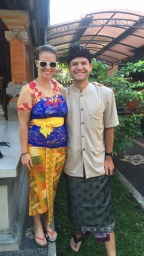 Us in our Balinese best!