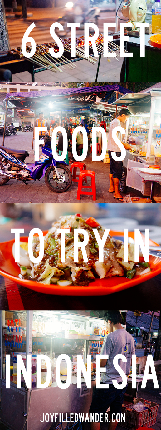Indonesian Street Food to Try!