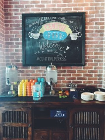 Central Perk coffee