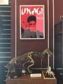Ross' bookshelf