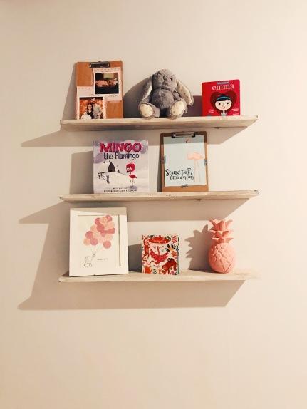 Baby's bookshelves