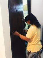 New door going in