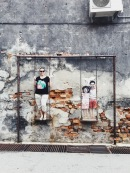 Street art Swing