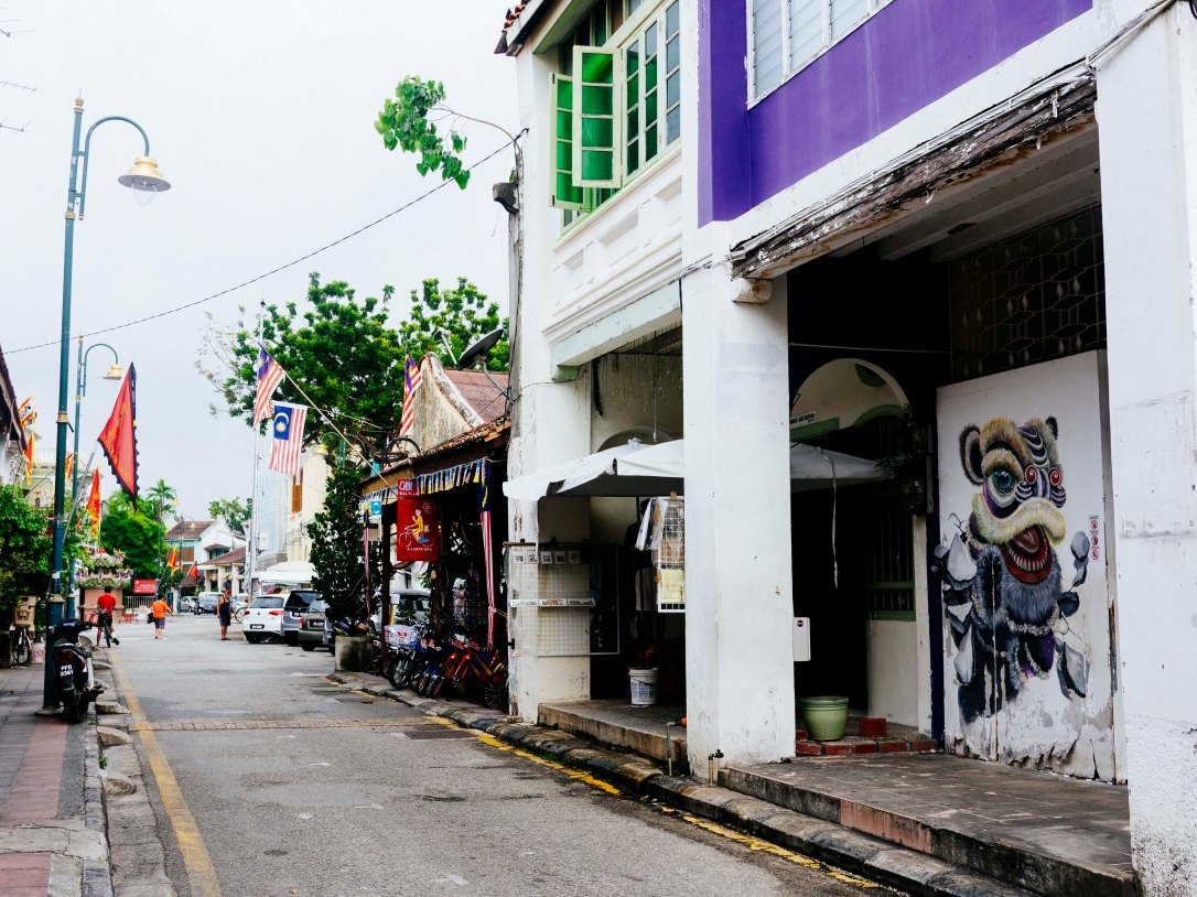 Walking Penang