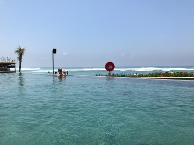 Pool time at Roosterfish