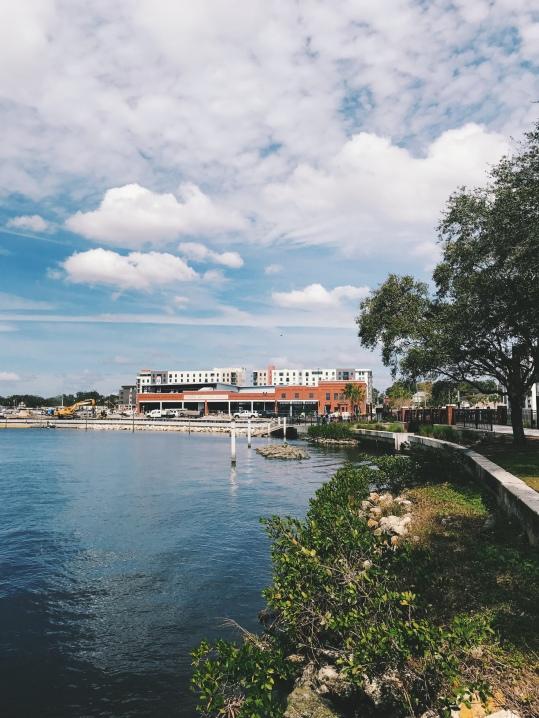 Downtown Tampa Riverfront